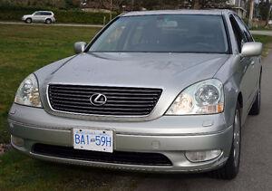 2001 Lexus LS LS430 Sedan