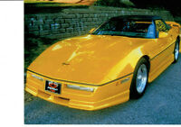 1987 Chevrolet Corvette , décapotable