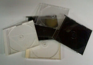 Cd and DVD cases and CD Racks as well as Floppy disc holders