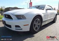 2013 FORD MUSTANG CONVERTIBLE, PREMIUM, V-6, CUIR