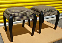Unique pair of bench/stools with storage, brand new (delivery)