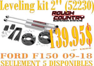 SPÉCIAL-RC Leveling Kit (2'') avec shocks F150  09-18 (52230)