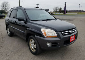 2007 KIA SPORTAGE LX -  IN GREAT CONDITION - CERTIFIED $4,495 !!