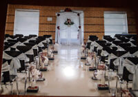 For Rent - 90 Silver Chair Sashes