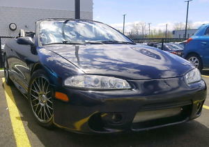 1998 MITSUBISHI ECLIPSE SPYDER CONVERTIBLE PRICED FOR QUICK SALE