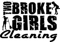 Two Broke Girls Cleaning Inc.