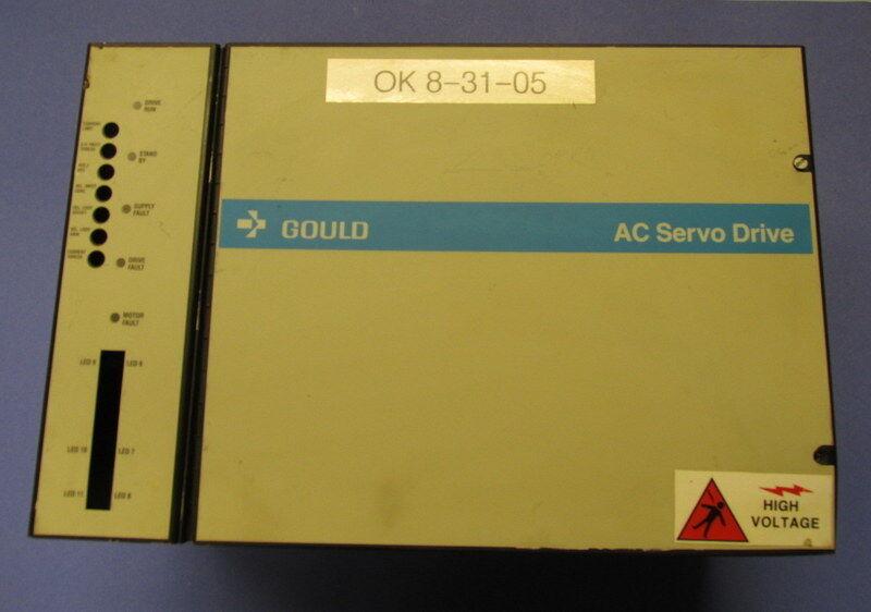 GOULD AC SERVO DRIVE CONTROLLER A338-03 *PZB*