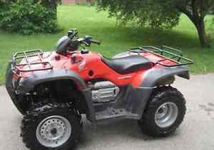 Looking to buy an ATV