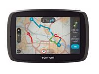 GPS TOM-TOM GO 5100 UK AND EUROPE NEARLY LIKE NEW FOR SALE