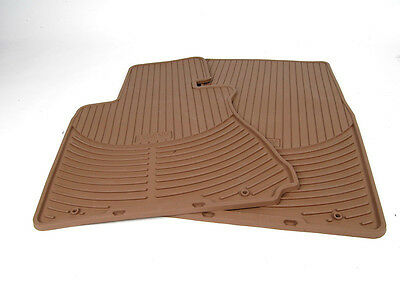 BMW OEM Beige Rubber Floor Mats SET OF 4 2002-2008 E66 745Li 750Li 82550151498 Bmw 2002 Rubber