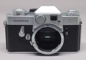 Leicaflex R Film Camera with Leather Leica Case and New Battery
