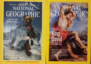 $15 NATIONAL GEOGRAPHIC (1989-2010) 22 years