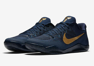NIKE KOBE 11 -philippines navy and gold