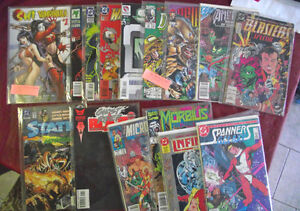 15-80's & 90's Comics 4 no.1's in Very Fine condition