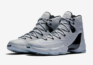 Nike Lebron James XIII Elite Wolf Grey size 8.5