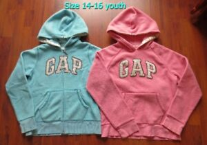 *Girl's *GAP* Hoodies Size ages 14-16 for sale