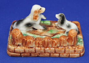 EARLIER OCCUPIED JAPAN FIGURINE Dogs Puppys Kingston Kingston Area image 2