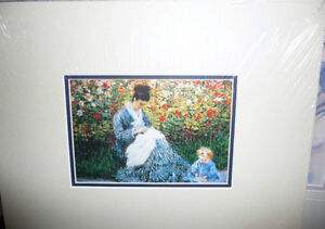 "Claude Monet ""Camille Monet and a Child in the Artist's Garden Stratford Kitchener Area image 1"
