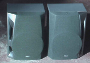 SONY Speakers stereo in pair  Also an RCA pair, West Island Greater Montréal image 1