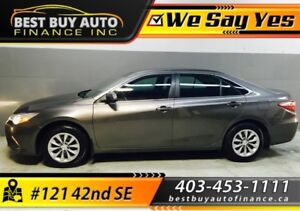 2017 Toyota Camry LE, BLUETOOTH, BACK UP CAM, $159 BI-WEEKLY ONL