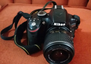 Nikon D3200 Camera with accessories