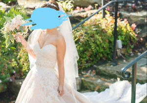 Beautiful Mori Lee wedding dress - worn only once! Check it out