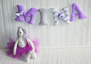 Baby name WALL LETTERS check my Facebook