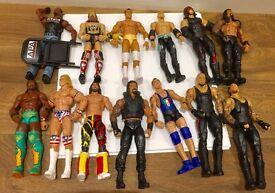 Mattel elite basic accessories weapons belts Wwe WCW children's figure etc