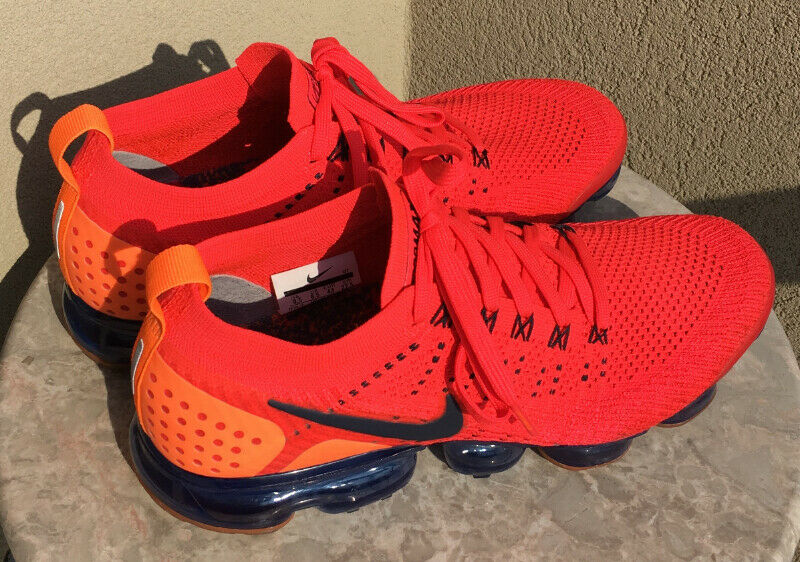 bca1109dc304 Nike Air Vapormax Flyknit 2 - Red Orbit Obsidian Total Orange ...