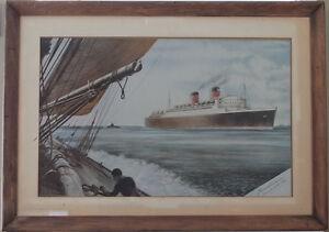 RMS Mauritania II 1938 Cunard White-star