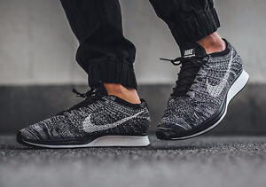 RARE!!! Nike Flyknit Racer in Oreo color!