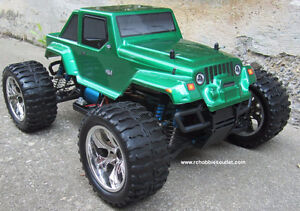 NEW RC MONSTER TRUCK  PRO BRUSHLESS ELECTRIC  1/10 Scale City of Toronto Toronto (GTA) image 6