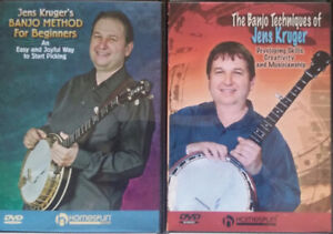 5-String Banjo Jens Kruger Tutor DVDs ($20 for the set)