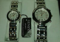 Never Worn His and Hers GENEVA quarts.  EXCELLENT COLLETION
