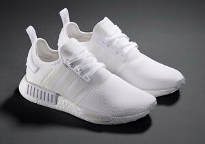 Brand New Adidas Triple White NMD R1 - Size 10