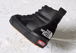 Vans Vault x The North Face TNF Sk8 Hi MTE Black/Black 2017