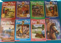 Pony Pals Books(7 books) and 1 Animal ark