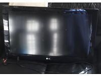 lg 32ld490 hd television no base stand.