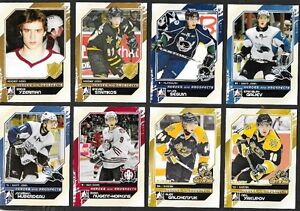 2010/11 In The Game Heroes & Prospects Base Set #1-150