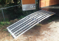 Erickson Folding Arched Loading Ramp