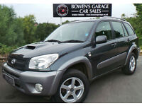 2005 (55) TOYOTA RAV4 XT4 2.0D-4D 4X4 - DEMO +1 LADY - FULL S/HIST - LOW MILES