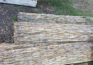 BUNDLES OF BAMBOO FENCING (80+ FEET)