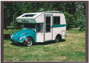 RARE! Custom 1968/1977 VW Super Bugger Mini Motorhome