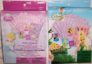 Disney Princess & Tinkerbell - Stamp Activity Sets - NEW London Ontario image 1