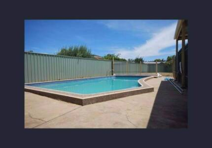 4bdroom pet friendly home with pool! open inspections Sat & Thurs