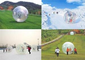 "Grass Snow Walking Rolling Christmas fun 118""Diameter Zorb122018"