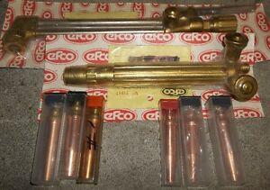 AIRCO  CUTTING TORCH SET PROPANE OR ACETYLENE  REBUILT BY EFCO