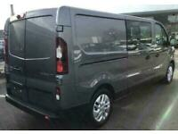 New Renault LWB Trafic SportNav Crew Vans 145/170 due for April delivery...