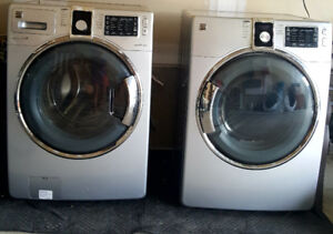 Kenmore washer and dryer. 2years old hardly used. Moving cant ta