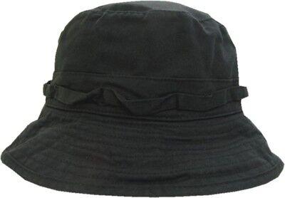 Bucket Hat Fisherman Black